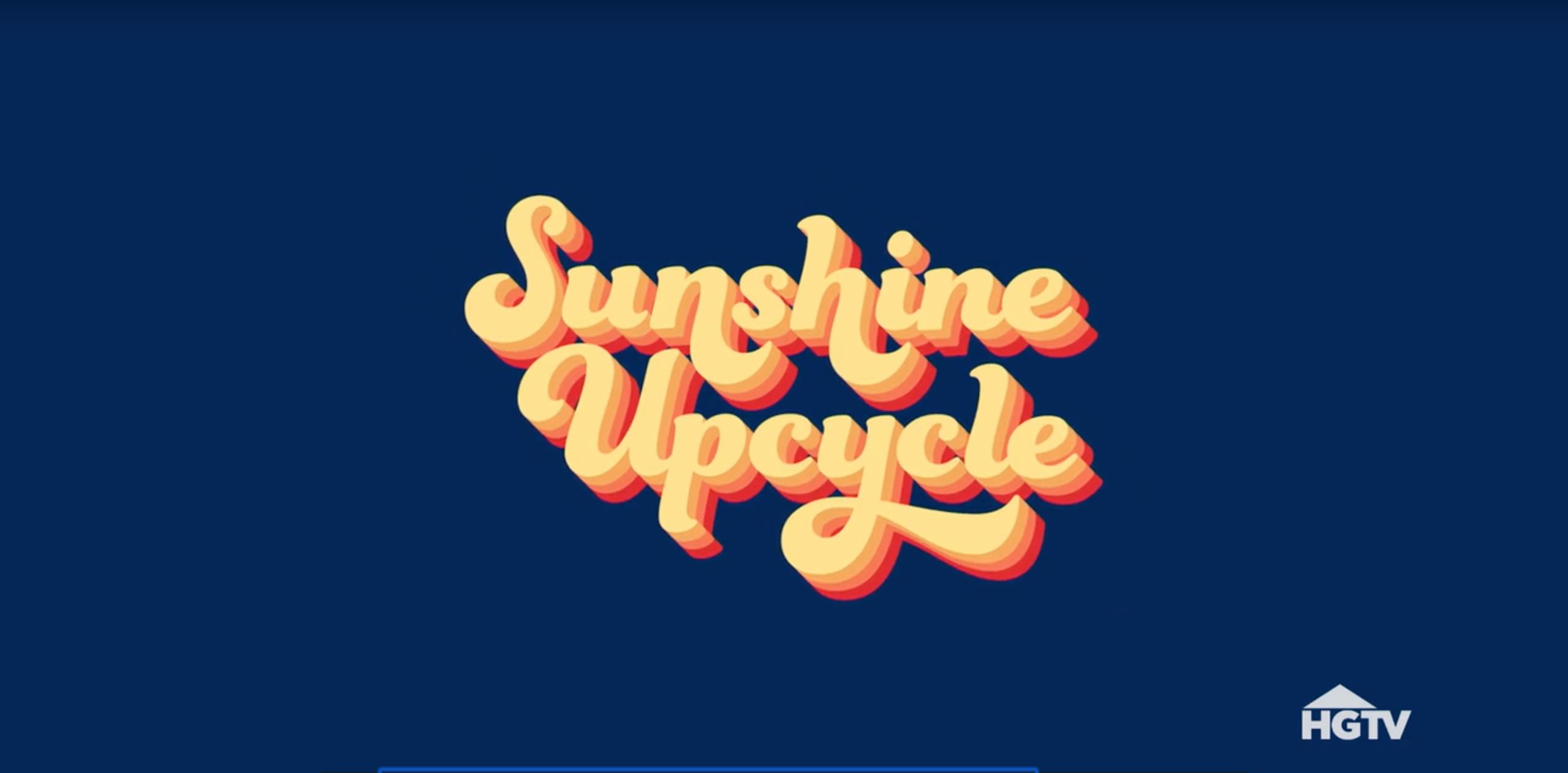 Sunshine Upcycle